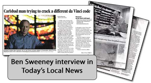 The Local News interview with Ben Sweeney Feb 2007
